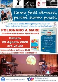 """Polignano a Mare (BA) - spettacolo """"Siamo fatti di-versi, perché siamo poesia"""""""